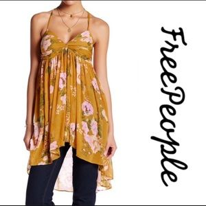 Free People Floral Mirage Tunic